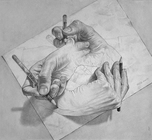 cool hand drawing amazing artwork pinterest