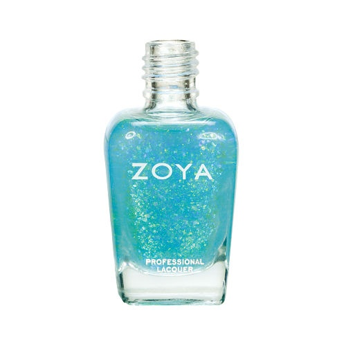 "Spring 2012 Nail Polish: Zoya ""True"" and ""Fleck Effect"" http://www.organicspamagazine.com/"