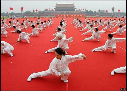 I take a Tai Chi class once a week.  I really enjoy it.  It has improved my balance and my sleep.
