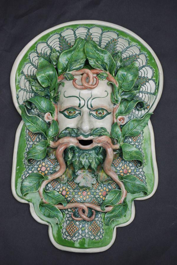 Barber Face Mask : Ceramic Masks by Jillian Barber, via Behance pottery ideas ...