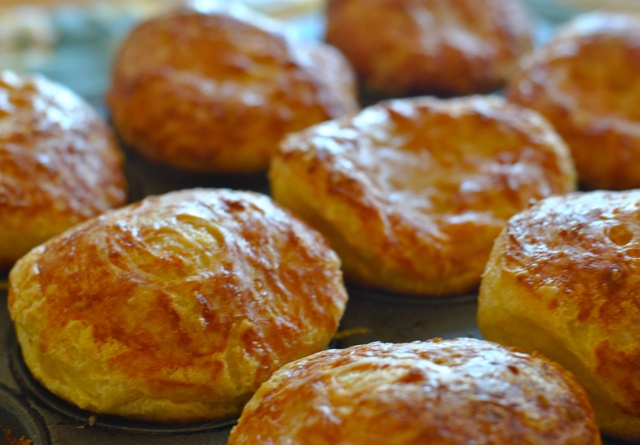 Gruyère popovers | offering people gum is not cooking | Pinterest