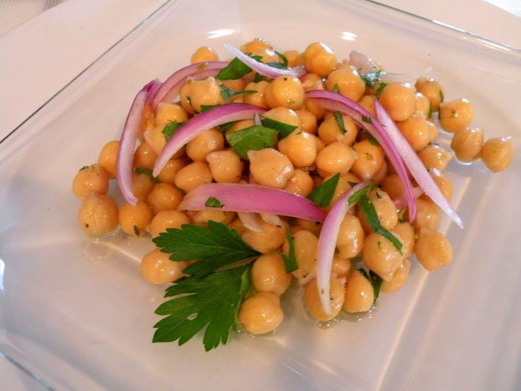 Simply Greek: Chickpea Salad – Rivithia | Simply Greek | Pinterest
