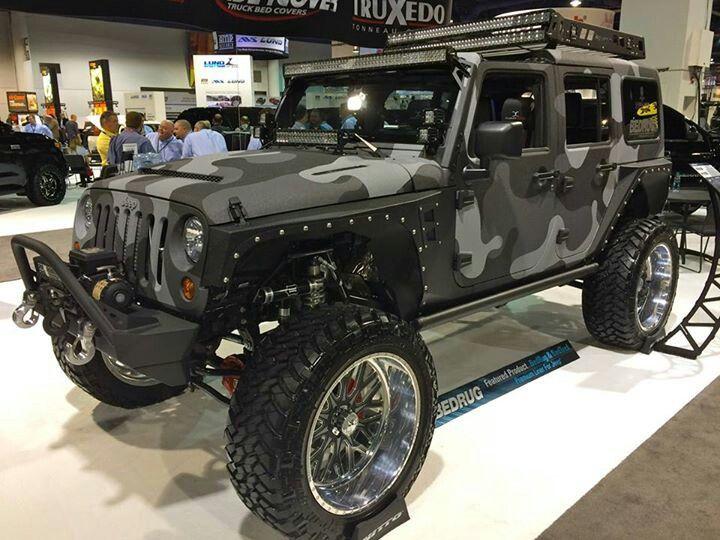 Black Camo Jeep It S A Jeep Thing Pinterest