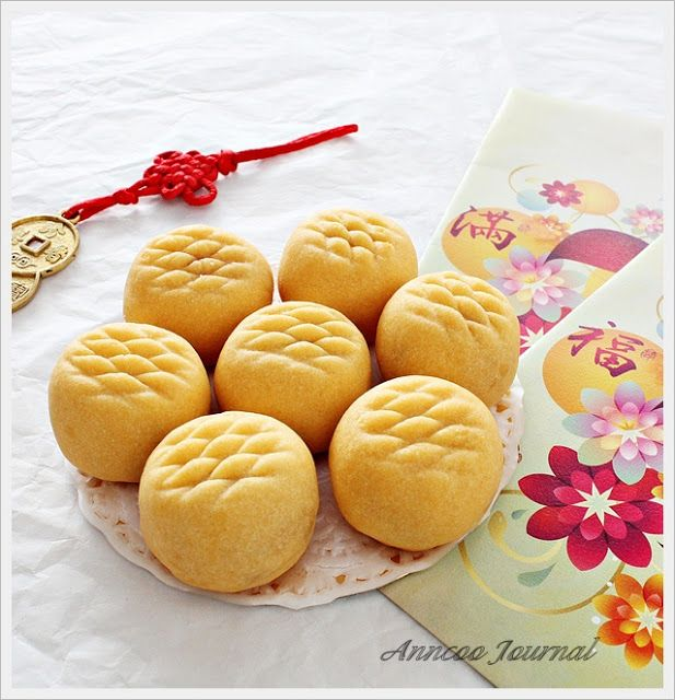 Pineapple Tarts 凤梨酥/黄梨挞 | Anncoo Journal | Desserts With ...