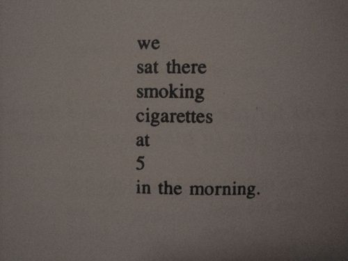 How Do You Write Good Morning In Japanese : We sat there smoking cigarettes at in the morning words