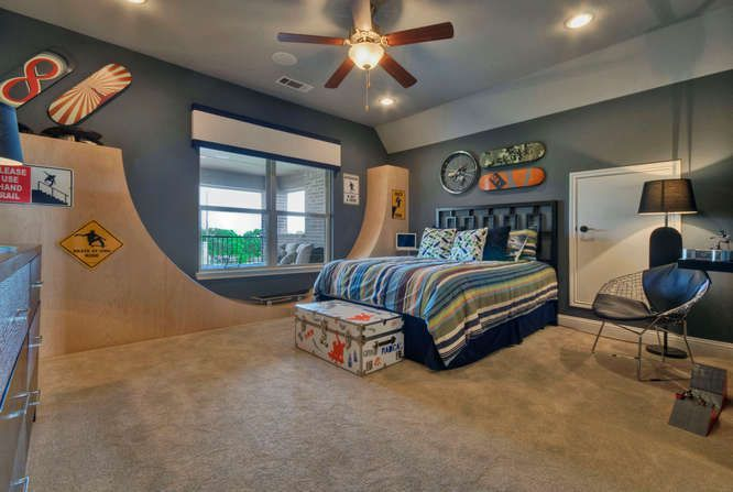 Pin by jessica stine on hair and style for my son pinterest for Boys skateboard bedroom ideas