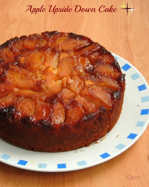 Apple Upside Down Cake | Cakes | Pinterest