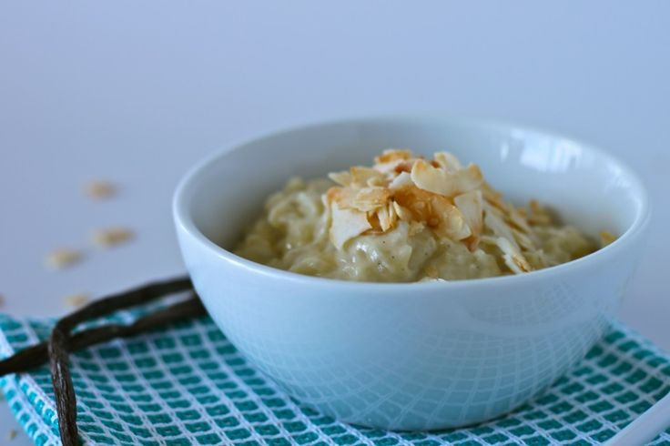 Coconut Vanilla Bean Rice Pudding - The Corner Kitchen