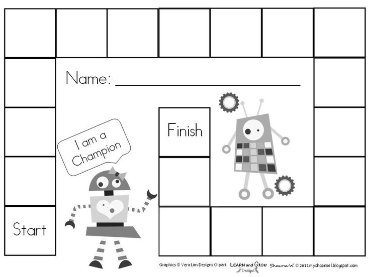 Printable Blank Game Board Template Free Free printable blank board