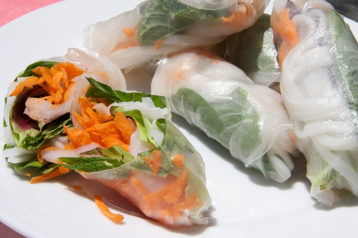 Summer Rolls With Baked Tofu And Sweet-and-Savory Dipping Sauce ...