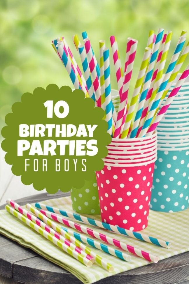 10 Birthday Parties for Boys