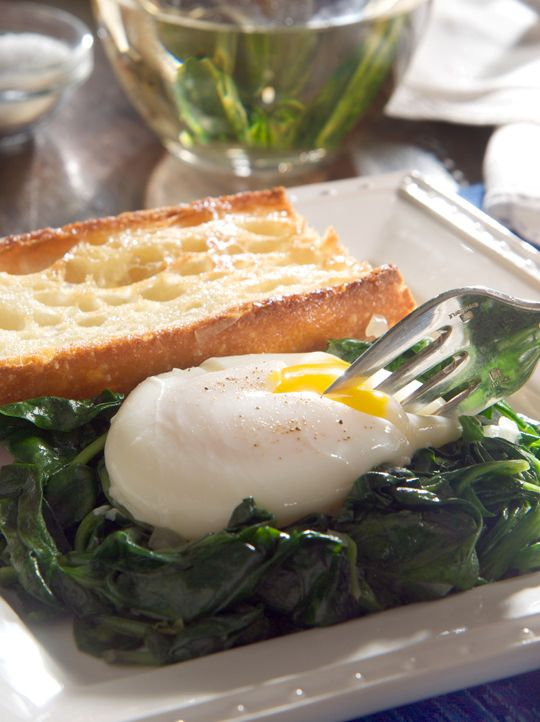 ... the poached egg with soft boiled if poaching seems like too much work