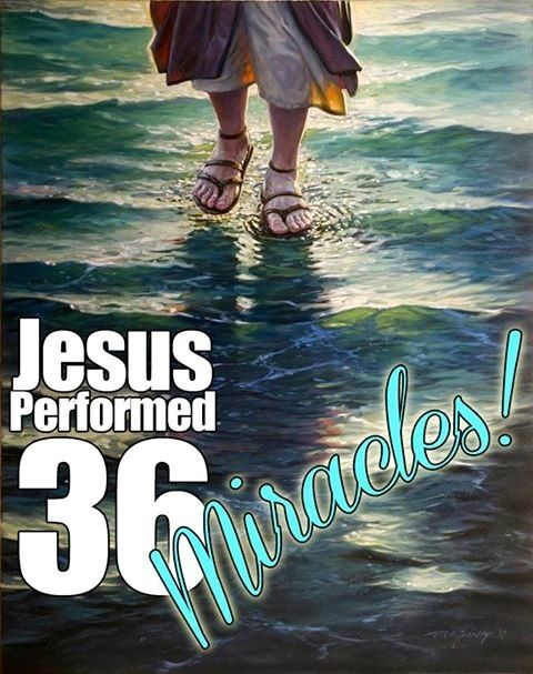 eight signs miracles jesus performed and Sign miracles paper: jesus and the eight signs tommy lee camden ii bibl 323, the gospel of john november 28, 2012 this miracle was the final sign miracle that jesus performed and it was perhaps one of the simplest ones as well.
