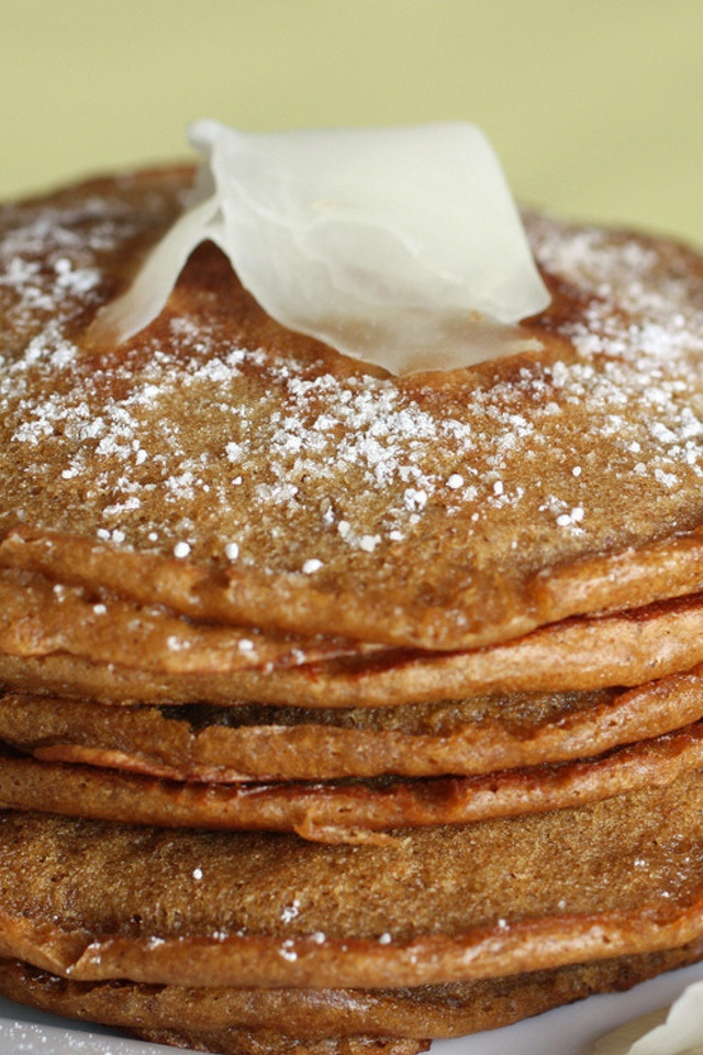 Gingerbread Pancakes | Entrees and Appetizers | Pinterest