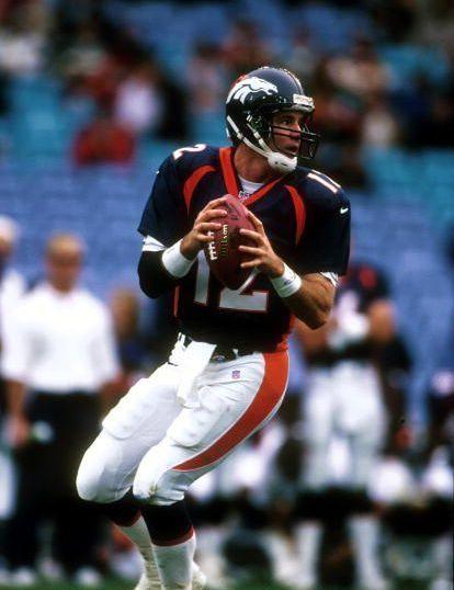 Chargers V Broncos. QB Chris Miller Denver Broncos Player ...