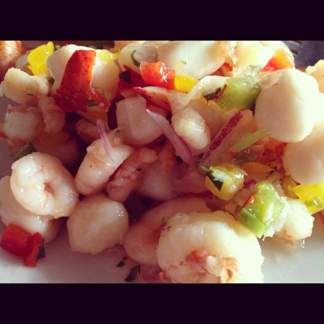Shrimp|Crab|Scallop Ceviche' | Food: Fish,Crab,Shrimps,Lobster and mo ...