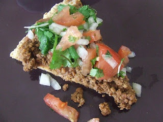 mexican flatbread pizza - gf | Noshes | Pinterest