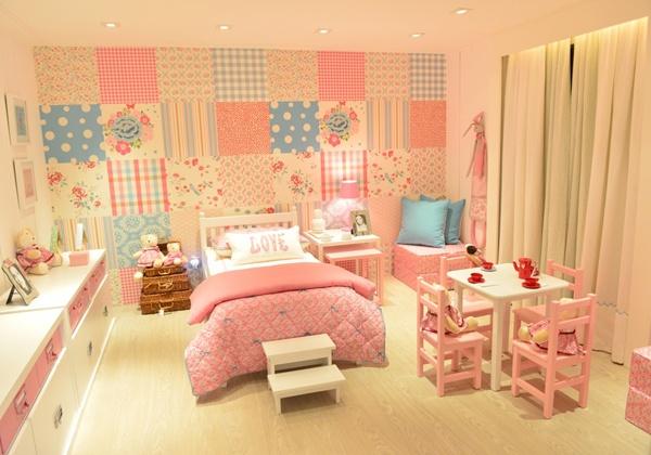 Fotos de quartos de bebê menina decorados MIMO INFANTIL