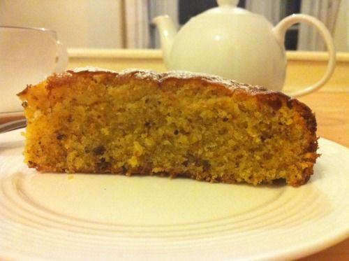 The Franco-Irish Kitchen — Pistachio and Olive Oil Cake