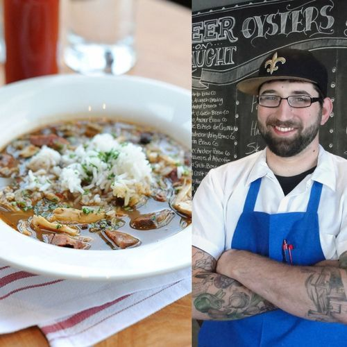 ... justin simoneaux s smoked chicken amp andouille sausage gumbo recipe