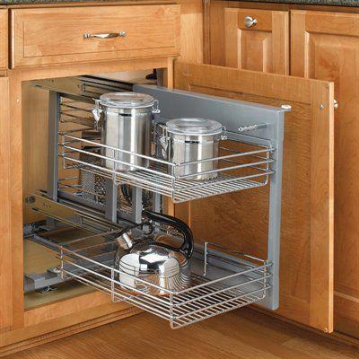 rev a shelf 5psp 15 cr 5psp series blind corner cabinet. Black Bedroom Furniture Sets. Home Design Ideas