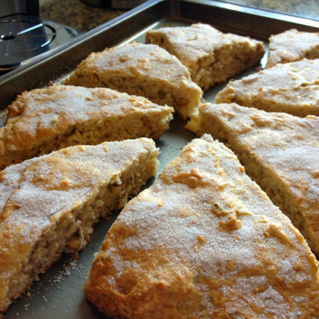 Banana walnut scones! | Foody | Pinterest