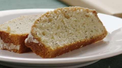 Poppy Seed Bread with Glaze Allrecipes.com