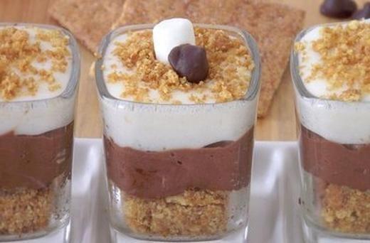 mores Cheesecake Dessert Shots | Sweet Desserts & Drinks ...
