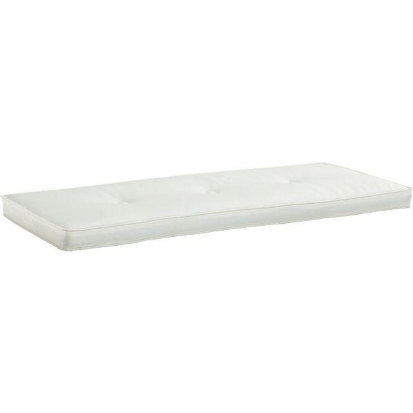 Brighton White Storage Bench Cushion