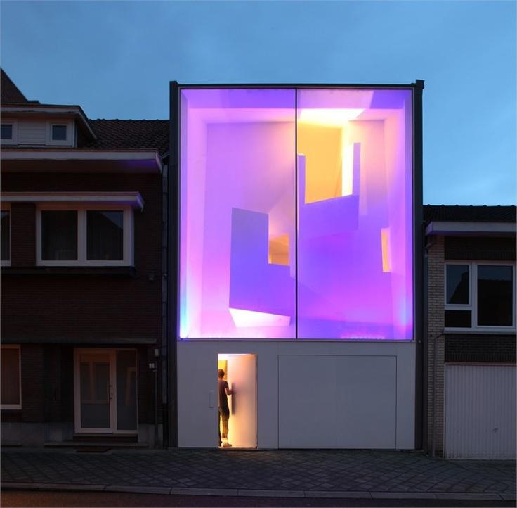 The Narrow House, Bilzen, 2007 http://bit.ly/wTvghD #archilovers #architecture #light