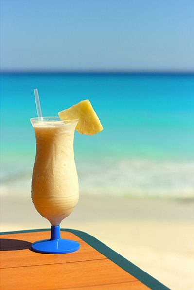 Spend Christmas on the Beach drinking (non-alcoholic) Pina Coladas - *not complete*