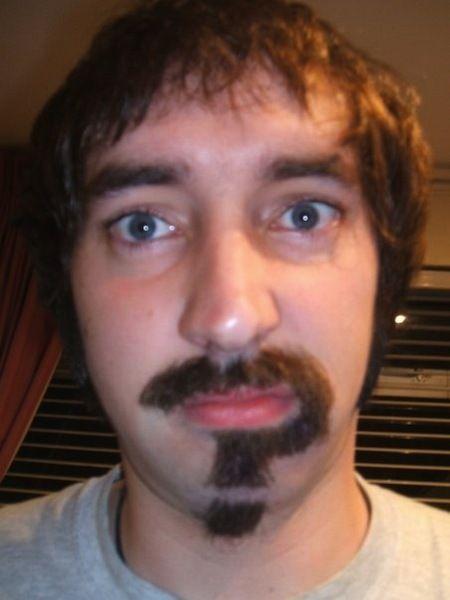 riddler moustache