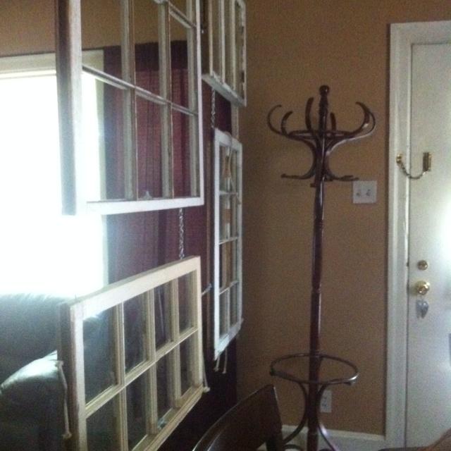 Room Divider Windows Create Wood Paint Diy Pinterest