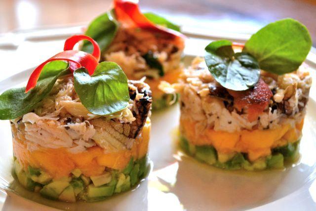 Crab, Mango & Avocado Salad | Food | Pinterest