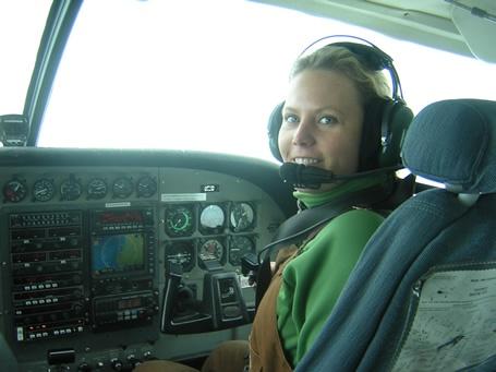 bush pilot article where women alaska aviation