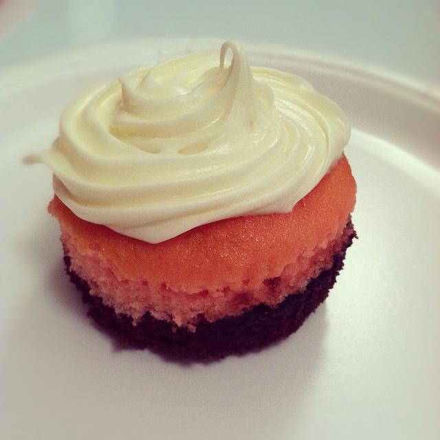 Neapolitan cupcake | Creative FOOD | Pinterest