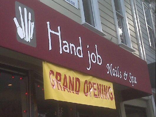 Hand job | Humor | Pinterest Funny Hotel Names