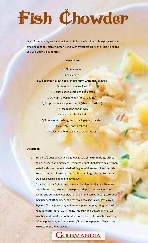 chowder salmon chowder fish chowder ii fish chowder fish chowder with ...