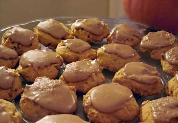 Pumpkin Cookies With #Maple Penuche Frosting. Going to try these this ...
