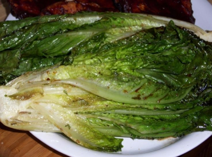 Grilled Romaine Lettuce | Grilling | Pinterest