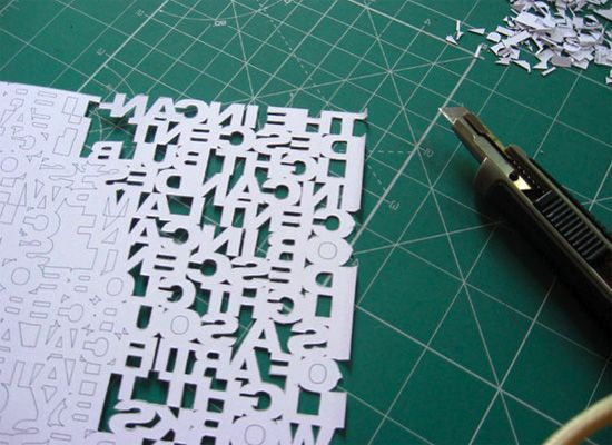 typography research papers