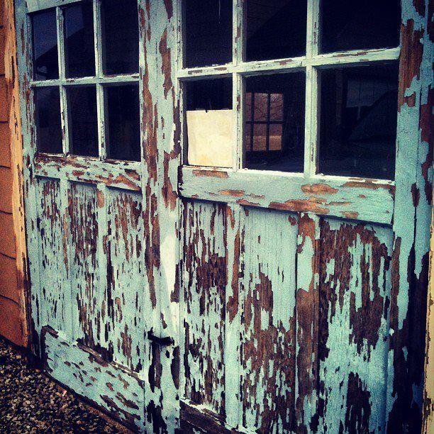 vintage garage door photo ideas pinterest
