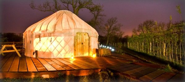 it's like a giant home for a glow worm...