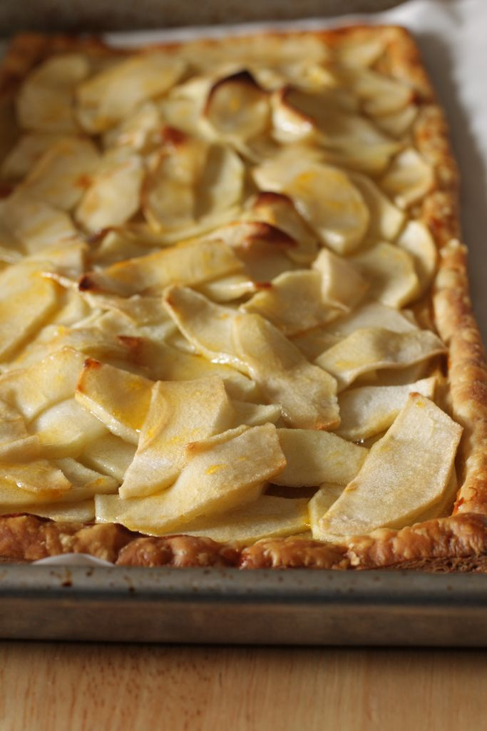 Rustic Apple Tart | Yummy | Pinterest