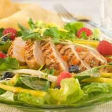 Tropical Chicken & Fruit Salad | Just Recipes | Pinterest