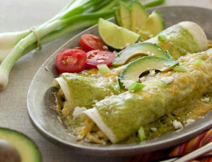 Avocado enchiladas | Main Dishes - Must Try | Pinterest