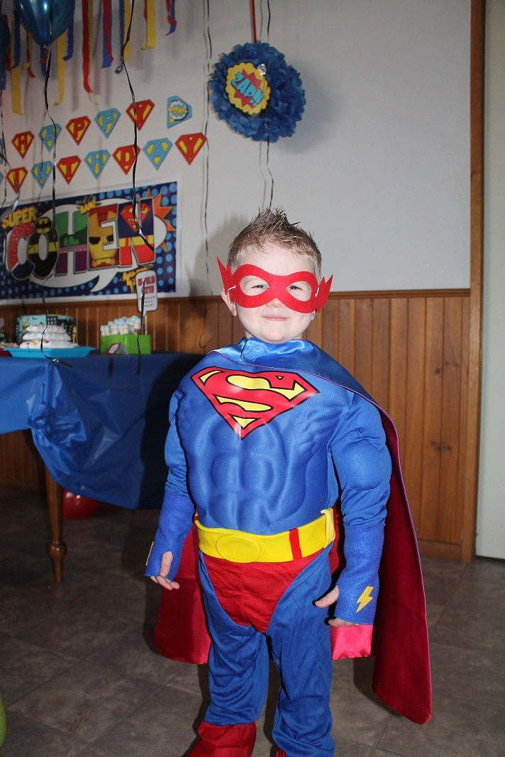... Party - Birthday Boy Cohen | Cohen's Superhero Party Ideas