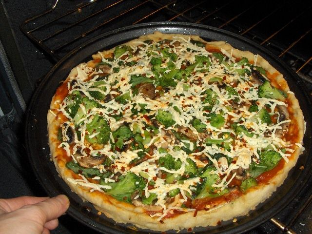 Very Veggie Pizza | Gluten Free Vegan | Food | Pinterest