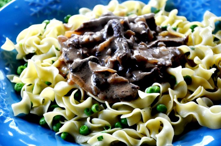 Classic Beef Stroganoff | Dinners for the man | Pinterest
