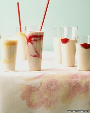 Strawberry-Banana Tofu Shake | Recipes::: Desserts | Pinterest
